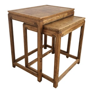 Chinese Nesting Tables - A Pair
