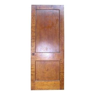 Recessed Panel Birch Veneer Interior Door