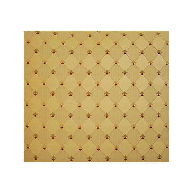 Custom French Golden Fleur-De-Lis Pillows - A Pair - Image 5 of 7