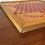 Image of Vintage Wooden Chinese Checkers Board