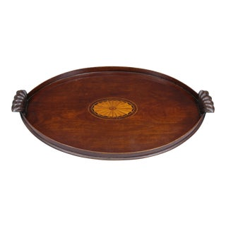 Antique Irish Oval Tray, Circa 1780
