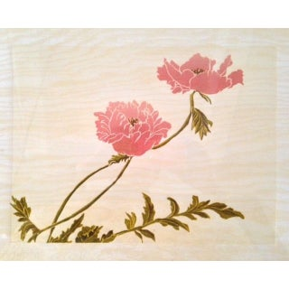 Art Print - Two Pink Flowers by Sylvia Roth