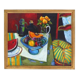 Abstract Still Life Oil Painting
