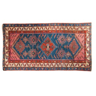 "Antique Malayer Rug Runner - 3'2"" X 5'10"""