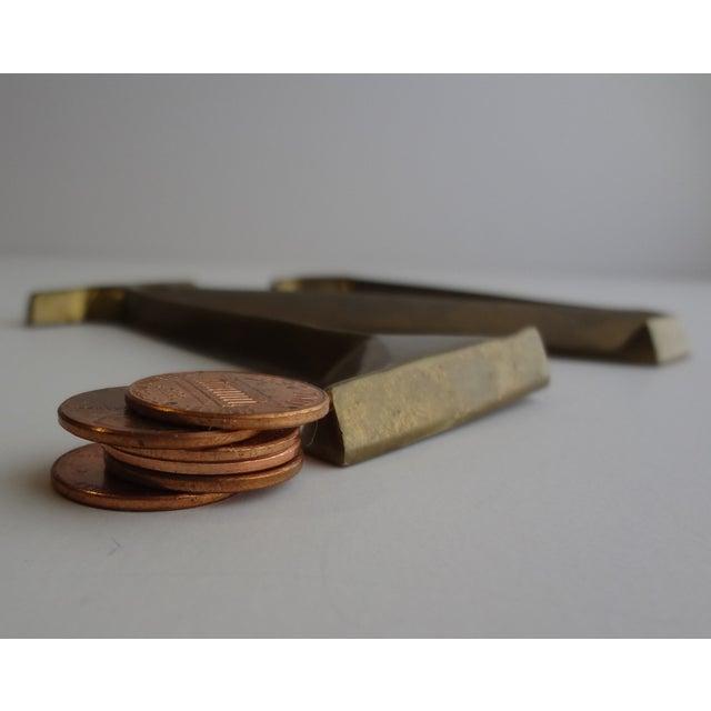 Italian Brass Letter N - Image 4 of 4