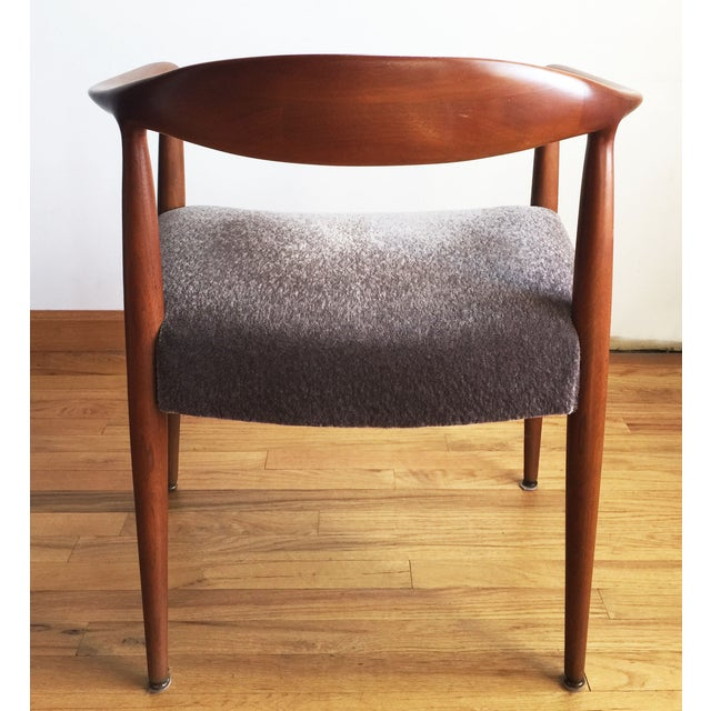 Image of 1970s Hans Wegner Kennedy Round Chairs - A Pair