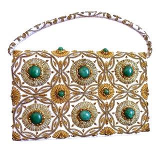 Hollywood Regency Embroidered Evening Bag
