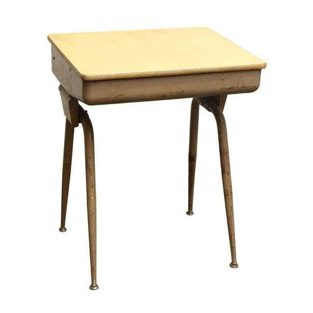Mid-Century Modern School Desk - Image 4 of 7