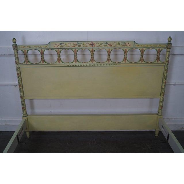 Widdicomb Mid-Century Venetian Style Queen Bed - Image 4 of 10