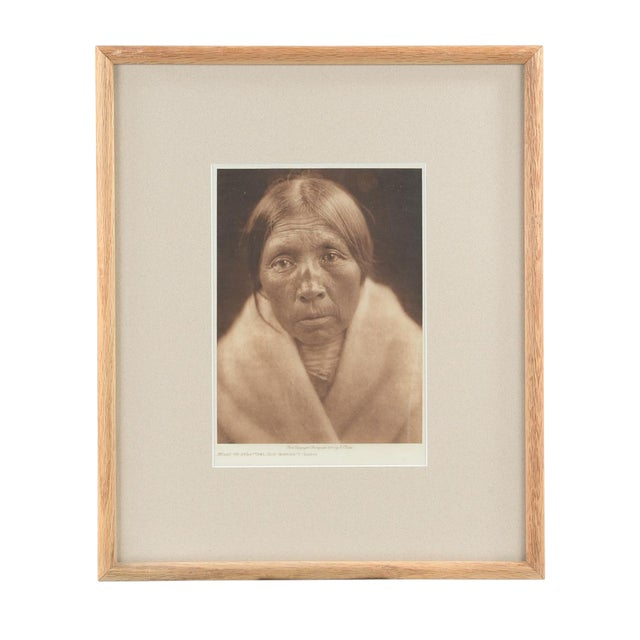 Sarsi Woman Photogaphy by E. Curtis - Image 1 of 5