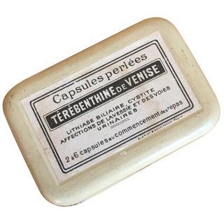 Petite Vintage French Tin