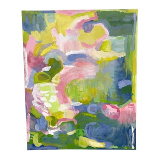 Reagan Geschardt Pastel Abstract Painting