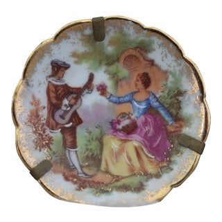 Gold Limoges Miniature Plate