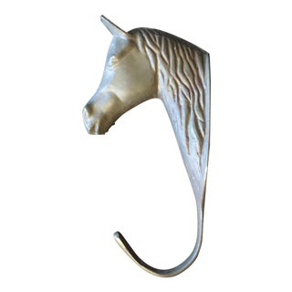 Brass Horse Head Wall Hook