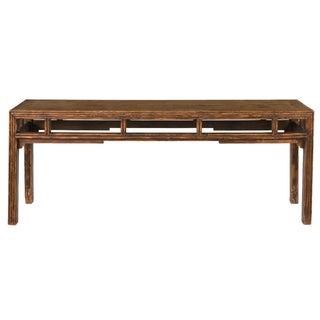 Sarreid LTD Black Wash Finished Altar Table