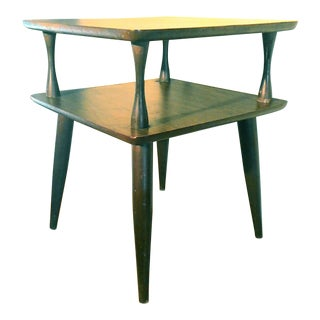 Mid-Century Modern Two Tier Table