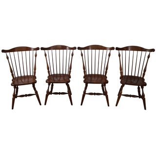 Frederick Duckloe Windsor Dining Chairs - Set of 4