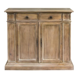 Sarreid Ltd. Transitional Mahogany Cabinet