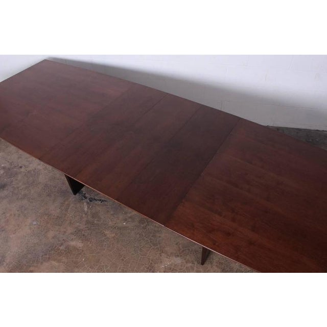 Large Walnut Dining Table by Edward Wormley for Dunbar - Image 7 of 10