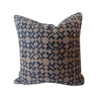 Peter Dunham Indigo Pillow