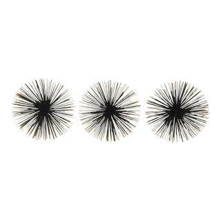 "Big 10"" Sea Urchins Wall Decor - Set of 3"