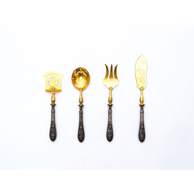 Victorian Flatware Set With Absinthe Spoon - Image 2 of 7