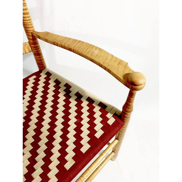 Reproduction Shaker Arm Chair - Image 5 of 8