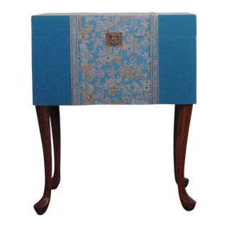 Accent Table With Removable Storage