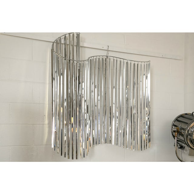 Curtis Jere Silver Kinetic Wall Hanging - Image 5 of 9