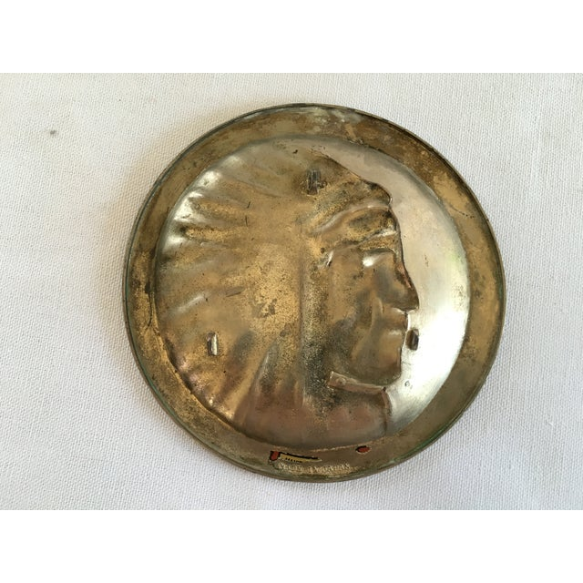 Copper Indian Chief Minitray - Image 4 of 5