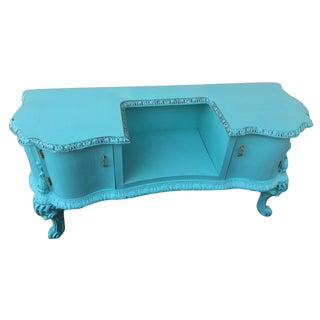 Tiffany Blue French Vanity