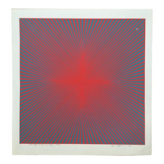 "Roy Ahlgren Limited Edition Print ""Homage to the Cross Iii"""