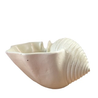 White Shell Planter