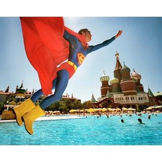 Reiner Riedler Superman Over Red Square