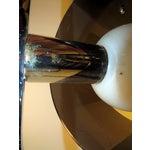 Image of Mid Century Sonneman Space Age Lucite Chrome Lamp