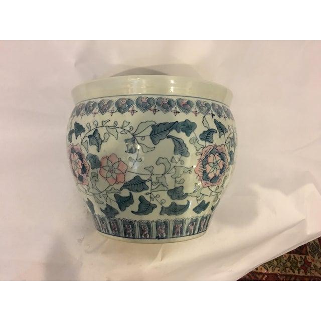 Large chinese ceramic jardiniere chairish for Jardinier 78