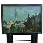 Image of Vintage Artex-Green TV Trays - Set of 4