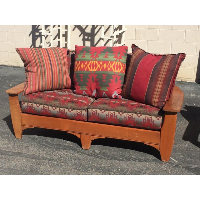 1940s cowboy loveseat chairish Cowboy sofa