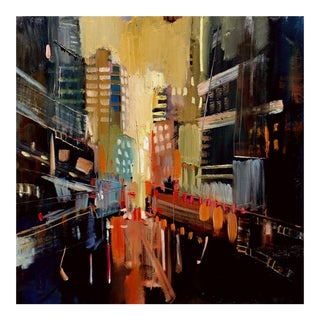 Riffing the Pigment, Cityscape