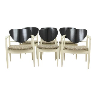 Midcentury Modern Style Dining Chairs - Set of 6