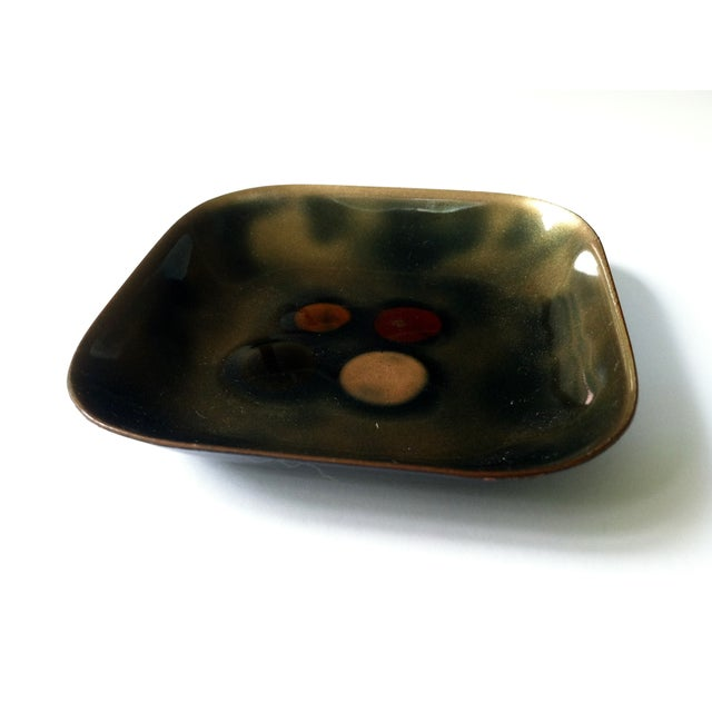 Bovano Enamel Trinket Tray - Image 2 of 6