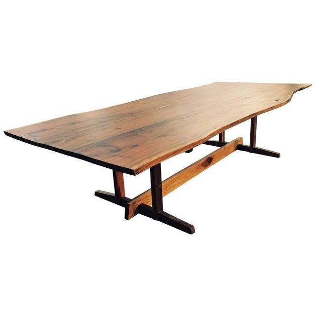 Image of Nakashima-Style Dining Table