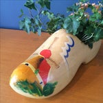 Image of Dutch Wood Clog Planter