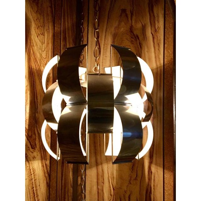 Modern Italian Light Fixture - Image 2 of 6