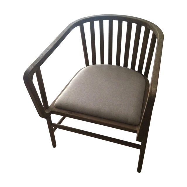 HD Buttercup Oak Club/ Dining Chair - Image 1 of 8