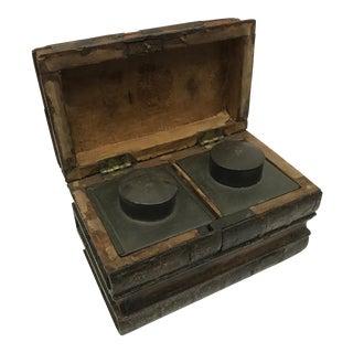 """Antique French """"Gil Blas"""" Tea Caddy, 1790"""