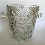 Image of Cut Glass Crystal Ice Bucket