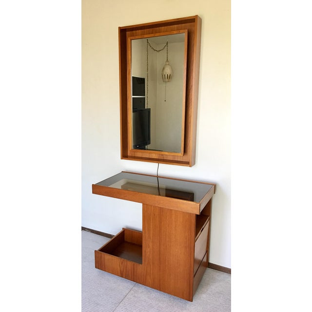 Pedersen & Hansen Danish Modern Mirror - Image 11 of 11