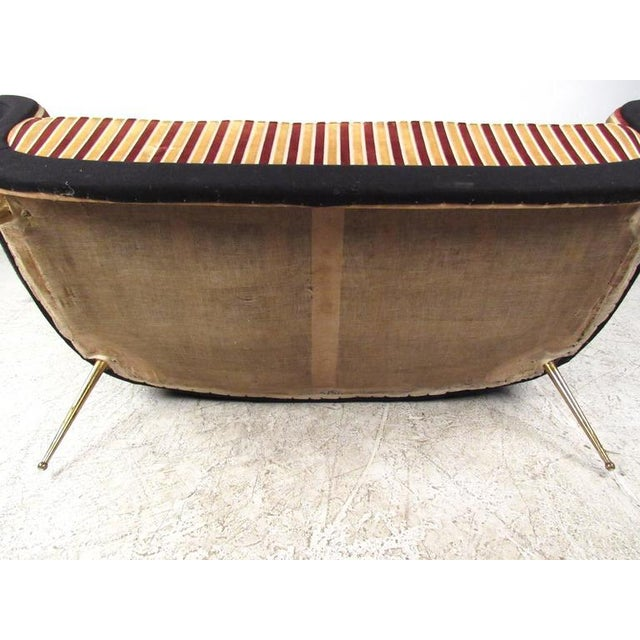 Exquisite Italian Modern Loveseat after Marco Zanuso - Image 7 of 11