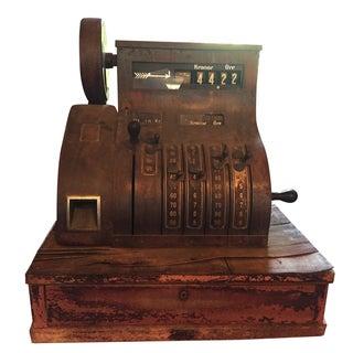 Working Antique Belgium Cash Register